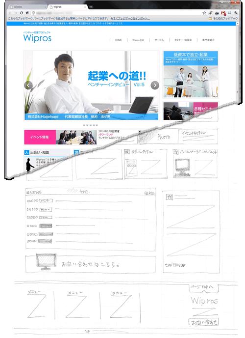 アメブロデザイン変更お任せください!ホームページデザインCUBES-Wipros起業家支援