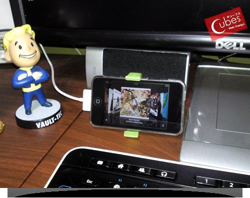 大阪の太っちょWebクリエイターCUBES-iPod touch