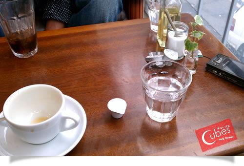 堀江でお茶