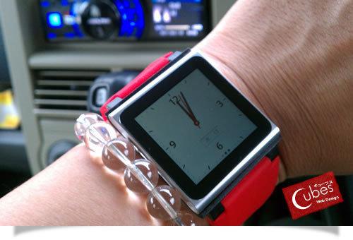 nanoで腕時計