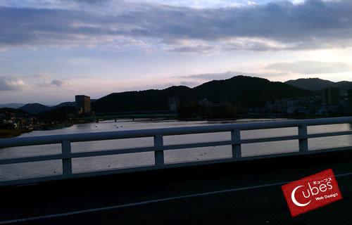 琵琶湖の端っこ