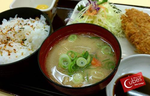 近江牛ミンチカツ定食
