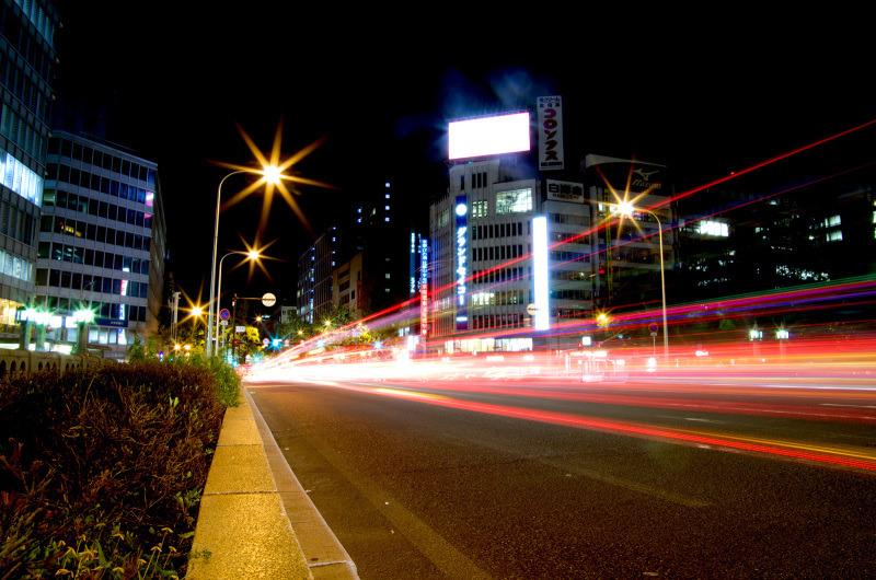 大阪市役所前から